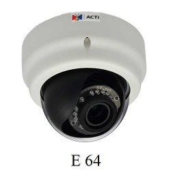 2MP Full HD Dome Kamera, WDR, SLLS, Ayarlanabilir lens E67